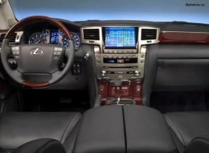 Lexus LX 570 interier