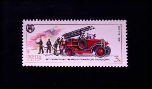 История отечественного пожарного транспорта 1985 АМО-Ф 15