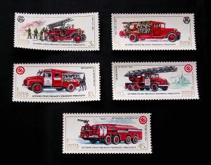 История отечественного пожарного транспорта 1985